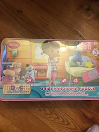 Disney doc McStuffins 3 in 1 panorama puzzle Yonkers, 10710