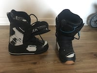 black-and-white Nitro snowboard boots Winnipeg, R2H
