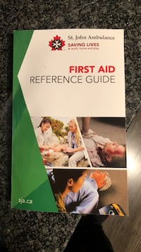 St Johns Ambulance First Aid Reference Guide Toronto, M2J 0B4