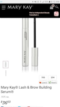 Mary Kay Lash & Brow Building Serum  Laurel