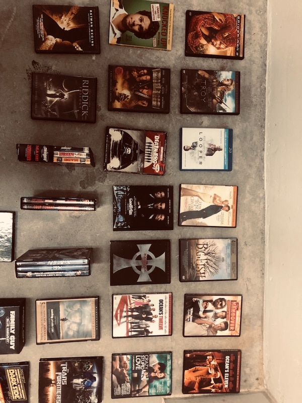 DVD and box sets-all of it tonight 25$