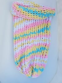 Knitted baby swaddle Cameron, 28326