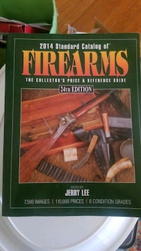 2014 standard firearms 24th edition book Old Town Manassas, 20111