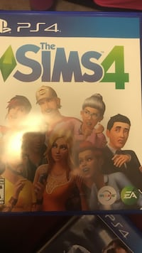 PS4 The Sims 4 case
