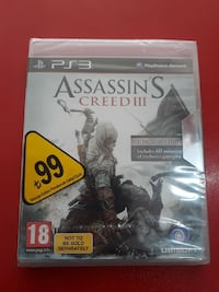 Assassin's Creed 3 PS3 OYUN SIFIR  Paşa Mahallesi, 45200