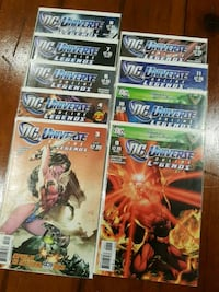 DC Universe LEGENDS comic book lot DC Toronto, M3C 4J1