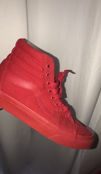 RED VANS SIZE 5.5Y Woodbridge, 22192