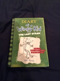 Diary of a Wimpy Kid the Last Straw book