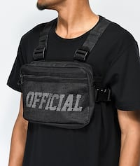 Official Chest Bag *BLACK* Vaughan, L6A 3J8