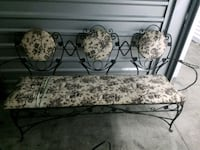 Antique Rod Iron French settee 529 mi