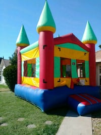 bounce house delivery... Repartidor Chofer Lathrop