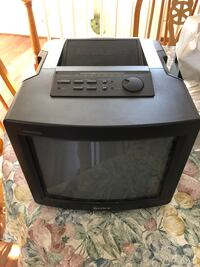 black CRT TV with remote Catonsville, 21228