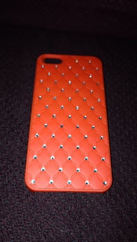 Orange with diamond clustered iPhone case Mansfield, 44907