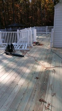 i do deck  tex me  if you  need my service   Baltimore