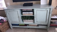 gray and black wooden TV stand Germantown, 20874