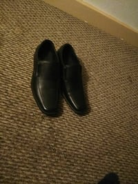 paired black leather loafers Pittsburgh, 15237