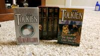 6x JRR Tolkien Books Purcellville, 20132