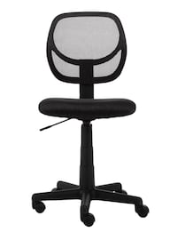 Low-Back Computer Chair - Black