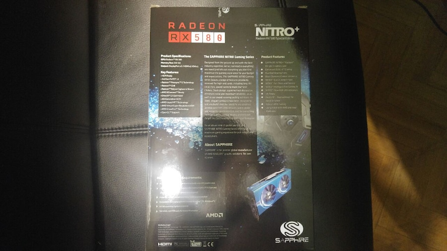 AMD RX 580 - Madrid