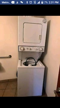 white front-load clothes washer and dryer set Indianapolis, 46218