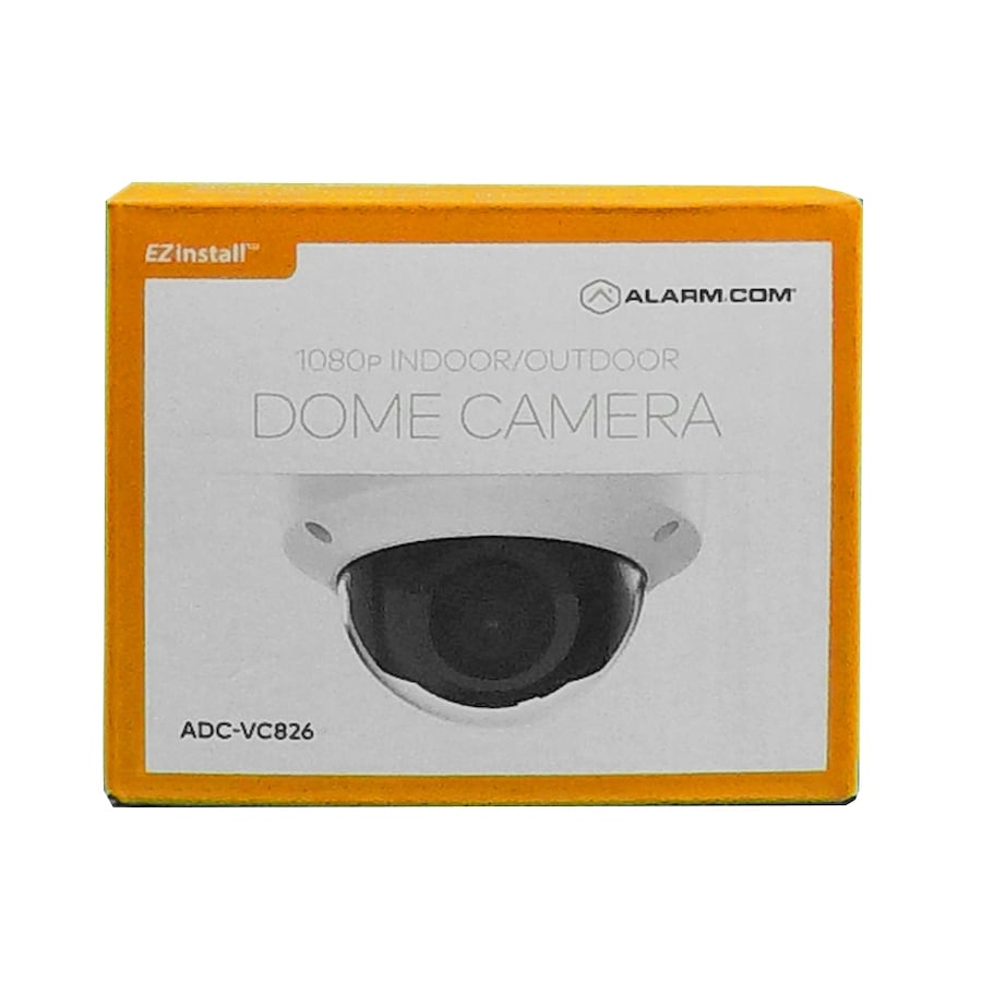 ADC-VC826 ALARM.COM INDOOR - OUTDOOR DOME CAMERA