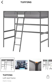 Loft bed twin size  Mississauga, L5J 1X8