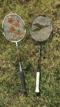 2 badminton racquets Central Okanagan