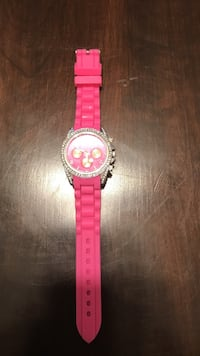 Pink rubber watch Lompoc, 93436