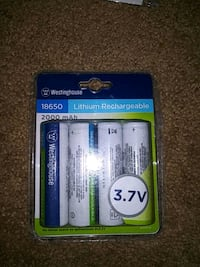 Westinghouse 3.7v lithium rechargeable batterie