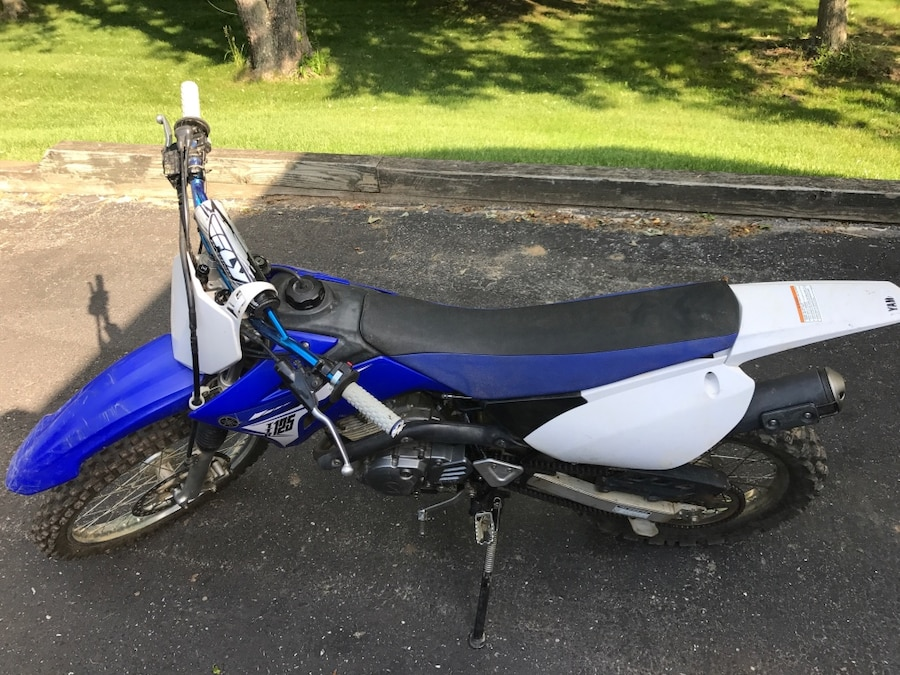 2014 Yamaha TTR125. Title available. Used for off road only   Reasonable offers ONLY.   CASH ONLY. PICK UP ONLY - Jackson