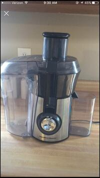 black and silver power juicer 298 mi