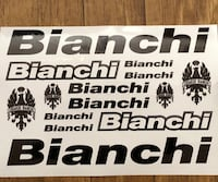 Bianchi Bike Decal Winnipeg, R2X 1Z7
