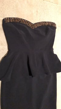 Forever 21 dress with gold studs sz s  Potomac, 20854