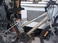 gray and black hardtail mountain bike Winnipeg, R2W 3M9