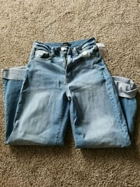 two gray and blue denim jeans Mountain View, 94040