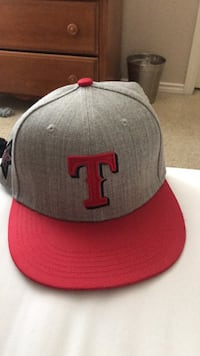 gray and red New Era snapback cap Coppell, 75019