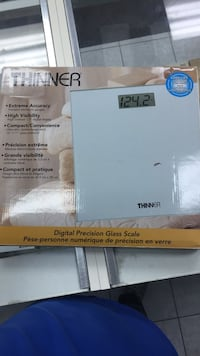 Thinner Digital Precision Glass Scale box Markham, L3S 4E5