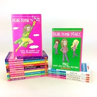 Lot 18 Dear Dumb Diary Books Complete Series 1-12 Year Two 1 2 3 5 Girls 8-13 Port Colborne