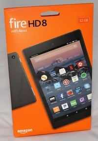 Amazon Fire HD 8 Tablet, 32 GB, Black , Brand new sealed #298845 Toronto