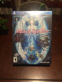 Final Fantasy XIV Collectors Edition PlayStation 4 Sherwood Park, T8A 3J9