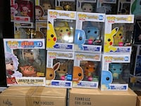 Funko Pop! Exclusives Pokemon Naruto DBZ Dug etc VARIOUS