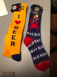 Unisex brand new Socks with tags on it  $10 for both Takoma Park, 20912