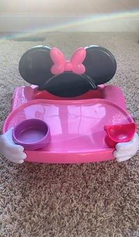 Minnie Mouse High Chair Seat