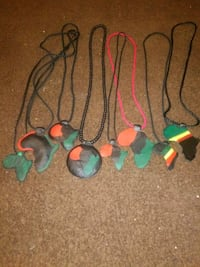 African medallions 100% genuine leather Detroit, 48203