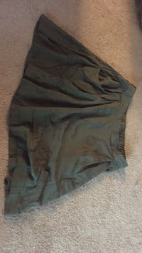 olive-green flare mini skirt Kalamazoo, 49008