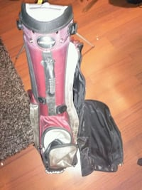 ADAMSgolf Burgundy red Golf bag 9/10 condition