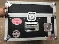 Road Runner M4URR Mixer/4 Rack Space Flight Case