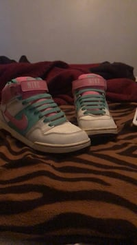 Pink And Turquoise Nikes Johnston, 02919