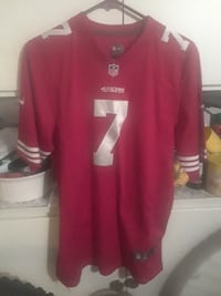 red NFL 7 jersey