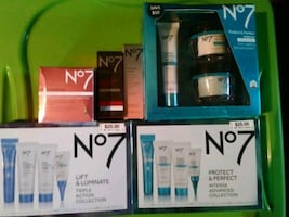**BRAND NEW NEVER OPENED NO7 PRODUCTS!!!!**
